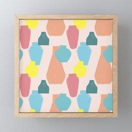 Pottery Framed Mini Art Print