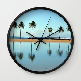 The Lagoon Wall Clock