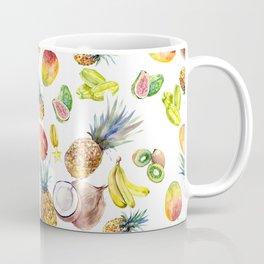 Tropical Fruits, Pina Colada, Fruit Punch tropical design Coffee Mug