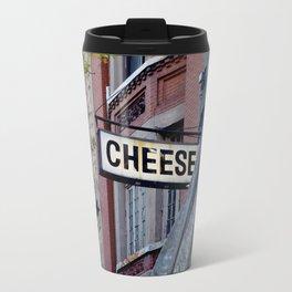 Cheese Sign Travel Mug