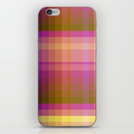 Complimentary Color harmony yellow/purple 2 iPhone Skin