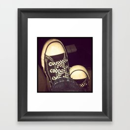 Kickin' Framed Art Print