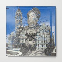 QUEEN ELIZABETH AND THE MANOR HOUSE II Metal Print