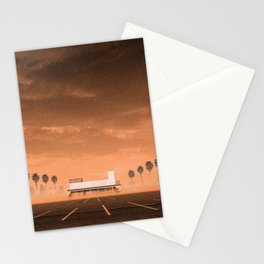 A Supermarket in California Stationery Cards