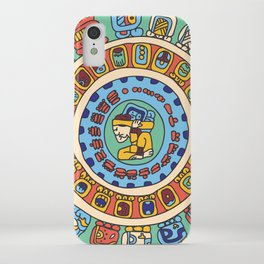 Mayan Calendar iPhone Case