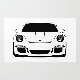 gt3 rs Rug