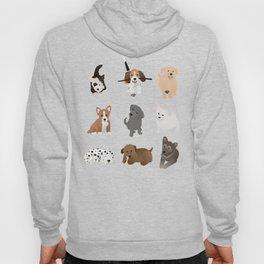 puppies pattern Hoody