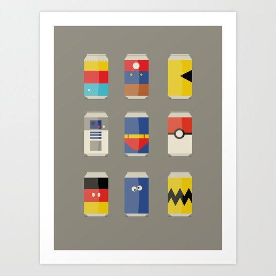 Pop Culture Art Print
