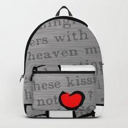 Lovebots Doodle Backpack
