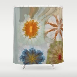 Fulvous Certainty Flowers  ID:16165-113635-96480 Shower Curtain