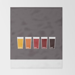 Pints Throw Blanket