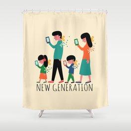 New Generation Shower Curtain