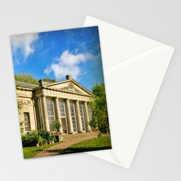 Temple Greenhouse (V2 Texture) Stationery Cards