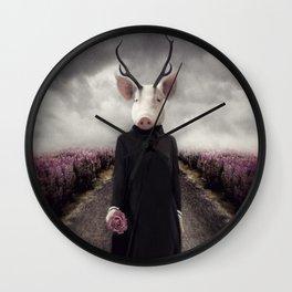 Priscilla Van Twinkle Wall Clock
