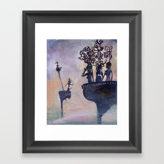 ladies from my dream Framed Art Print