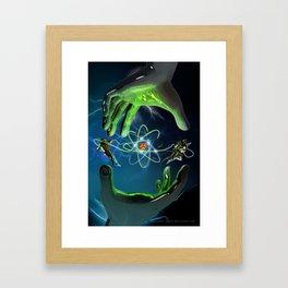 The Atom Control Framed Art Print