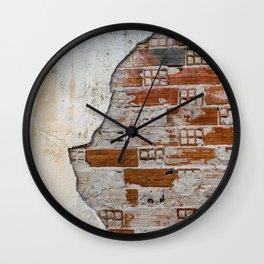 Cracked Facade Wall Clock