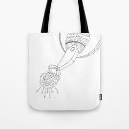 AI Robot Intelligence Tote Bag
