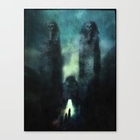 guardians Canvas Prints featuring ...guardians by Z-GrimV