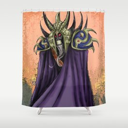 The Necromancer Shower Curtain