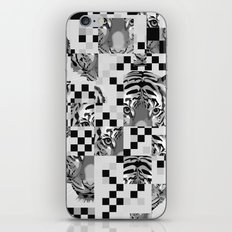 Black And White Tiger Mix iPhone & iPod Skin