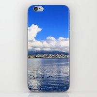 vancouver iPhone & iPod Skins featuring North Vancouver by Chris Root