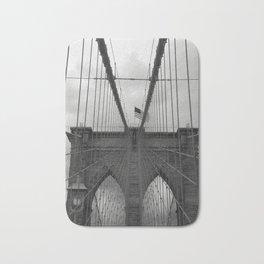 Brooklyn Bridge Cables Bath Mat