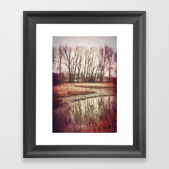 Solitude River Framed Art Print