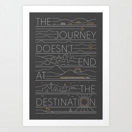 The Journey Art Print