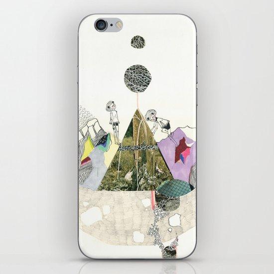 Climbers - Cool Kids Climb Mountains iPhone Skin