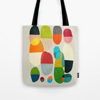 pills Tote Bags featuring Jagged little pills by Picomodi