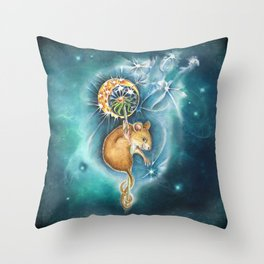 Step 1  Close your eyes - step 2 Make a Wish - step 3 Blow Throw Pillow