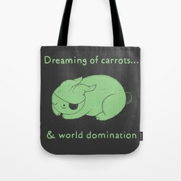 Dreaming of carrots Tote Bag