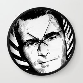 The Twilight Zone: Rod Serling Wall Clock