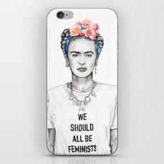 FRIDA KAHLO - The Ultimate Feminist iPhone & iPod Skin
