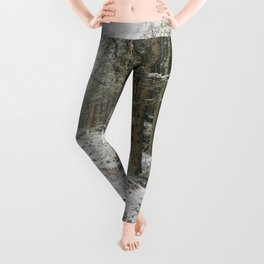 For now I am Winter - Landscape photography Leggings