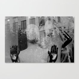 street photography in frankfort Canvas Print