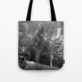 III. The Empress Tarot Card Illustration Tote Bag