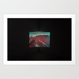 Untitled (Aiguille Rouge 2) Art Print