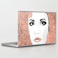 stevie nicks Laptop & iPad Skins featuring Stevie by IN SEARCH OF GOOD THINGS