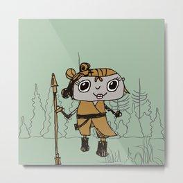 The Warrior Princess Metal Print