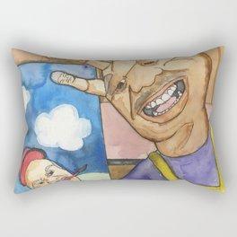 Handy little accidents Rectangular Pillow