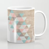 triangle Mugs featuring Archiwoo by Marta Li