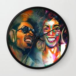 Stevie Whitney Wall Clock