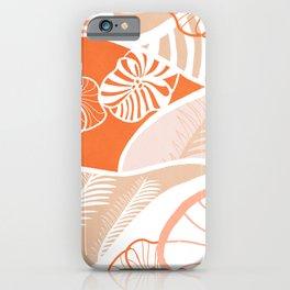 vintage hawaii, coral iPhone Case