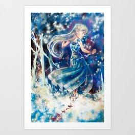 Empty Blue Art Print