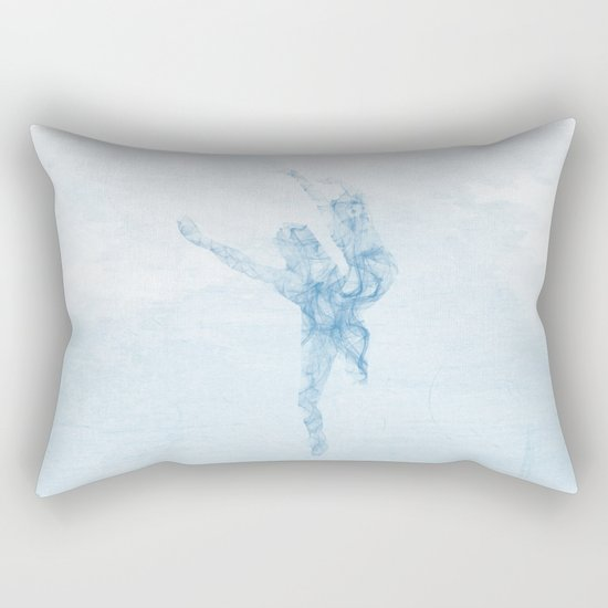Whisper dance Rectangular Pillow