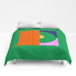 E - Vicente Typeface Comforters