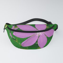 Purple clematis Fanny Pack