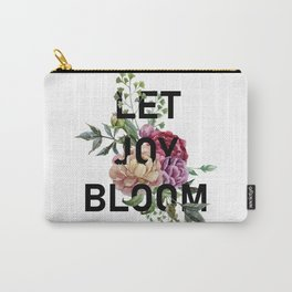 Let Joy Bloom Carry-All Pouch